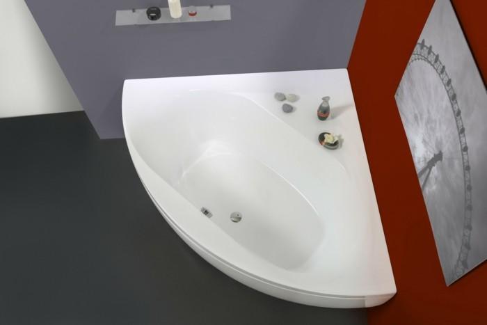 eckwanne modernes design badezimmer ideen schöne farben