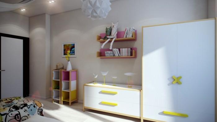 farbgestaltung kinderzimmer frische farbkombinationen machen