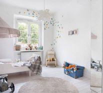 Die Farbgestaltung im Kinderzimmer mit Vorsicht betrachten!
