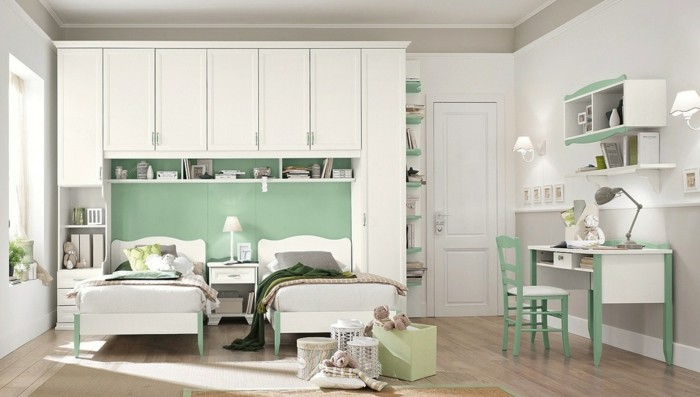die farbgestaltung kinderzimmer mit vorsicht betrachten. Black Bedroom Furniture Sets. Home Design Ideas