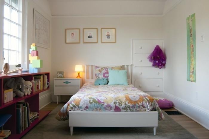 farbgestaltung kinderzimmer mädchenzimmer gestalten gemütliche einrichtung