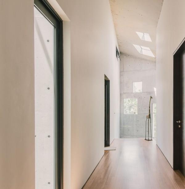 flur gestaltung moderne architektur