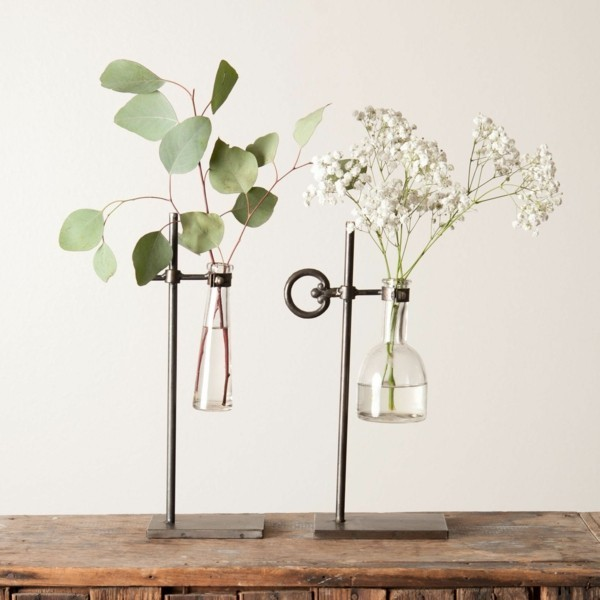 frühlingsblumen deko magnolia arrangieren ideen