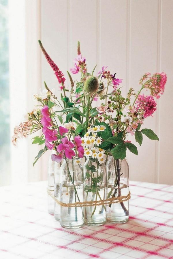 frühlingsblumen deko vintage stil dekoideen frühling