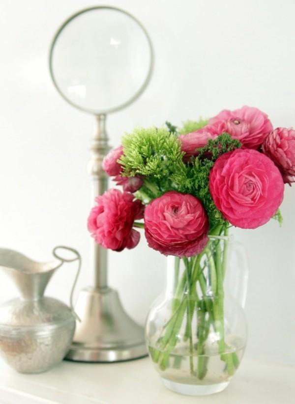 frühlingsblumen deko wohnungsdeko ideen
