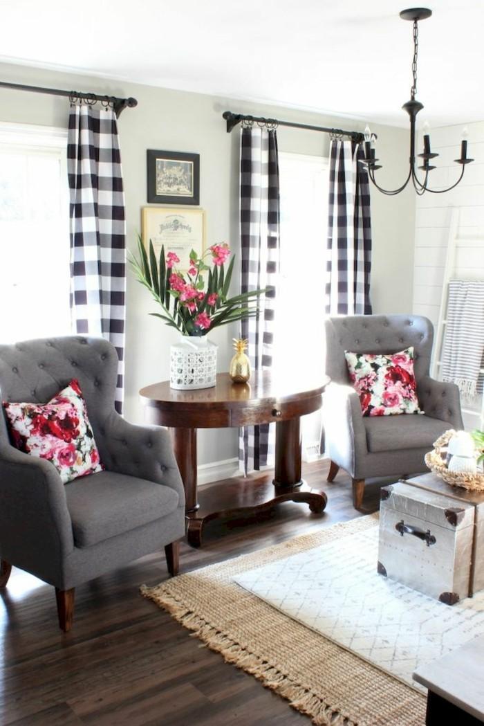 frühlingsfarben florale muster dekokissen wohnzimmer