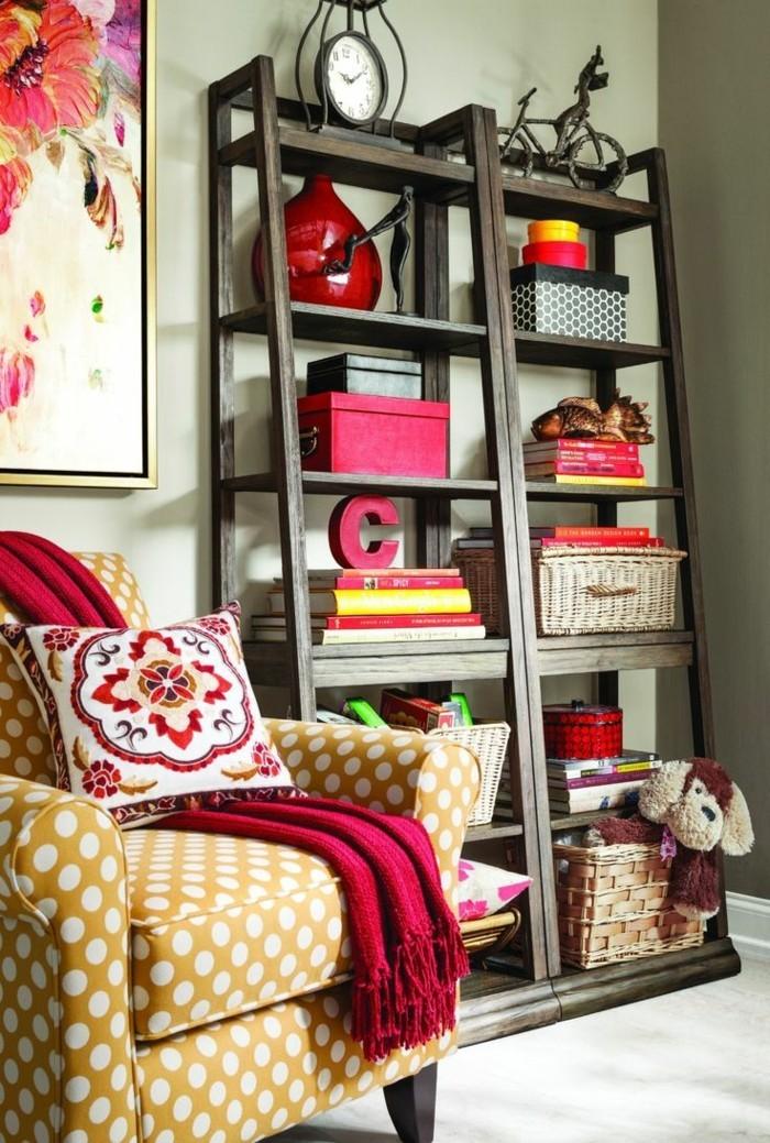 frühlingsfarben krasse akzente wohnzimmer erholungsbereich