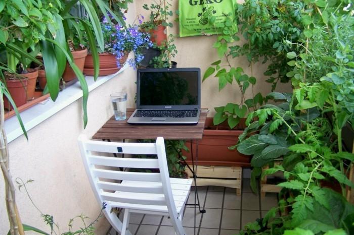gemuesegarten anlegen froheernte balkon ideen gartengestaltung arbeitsplatz