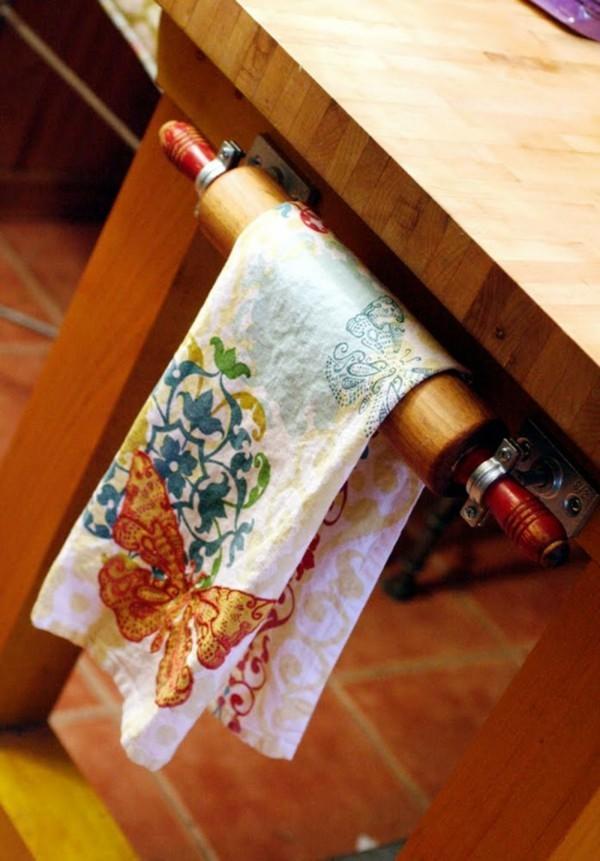 geschirrtücher idee für edle küche