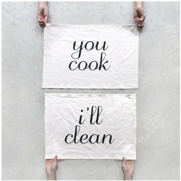 Tipps und Ideen für DIY Küchen- und Geschirrtücher - Fresh Ideen für ...