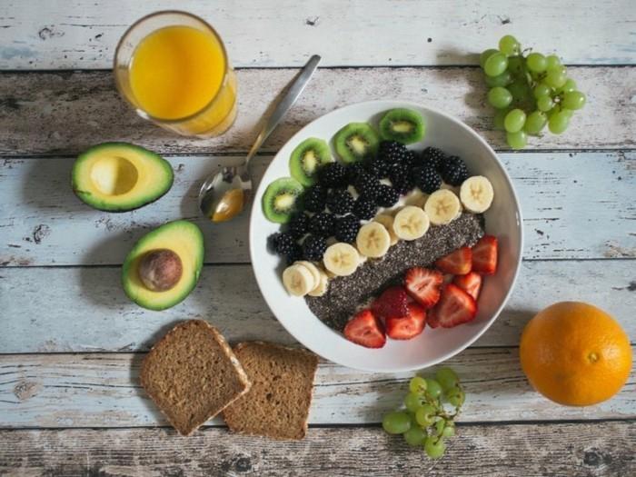 gesundes frühstück obst avocado was tun gegen heißhunger
