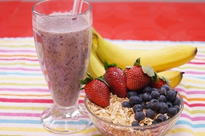 gesundes frühstück smoothie rezepte zum abnehmen