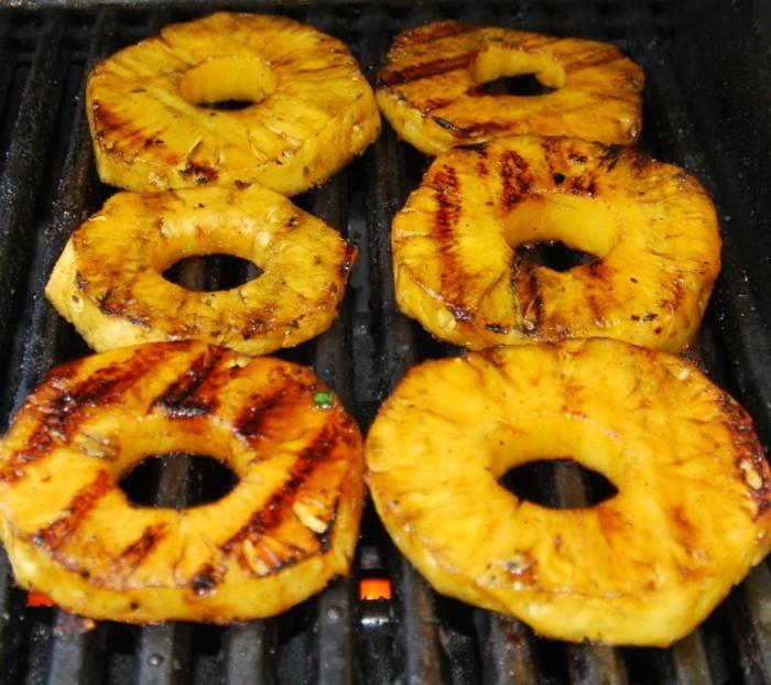 grillen vegetarisch gute einfache rezepte ananas gegrillt