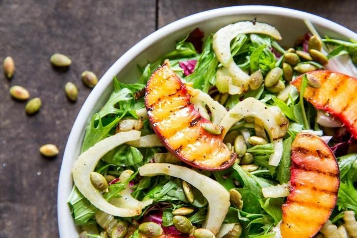 grillen vegetarisch gute einfache rezepte fenchel erbsen