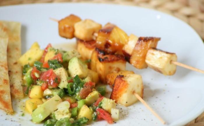 grillen vegetarisch gute einfache rezepte halloumi kartoffel