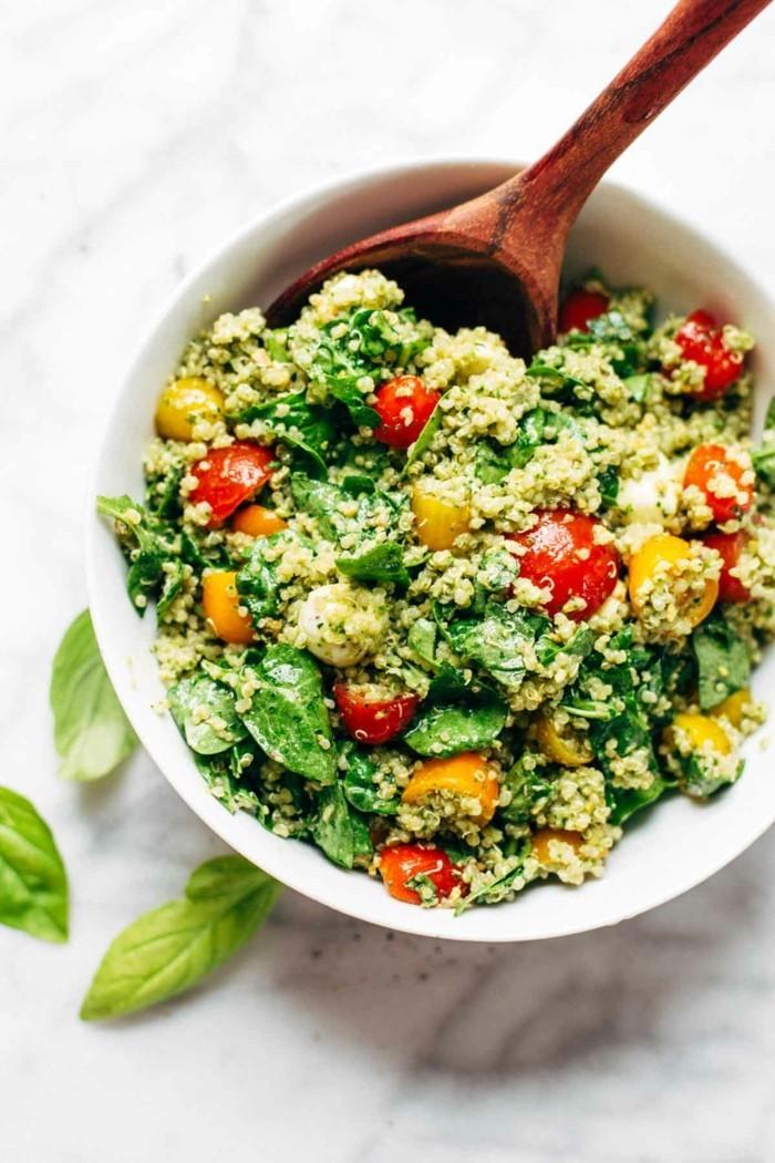 grillen vegetarisch gute einfache rezepte hirsensalat