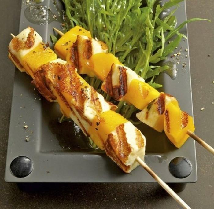 grillen vegetarisch gute einfache rezepte mango