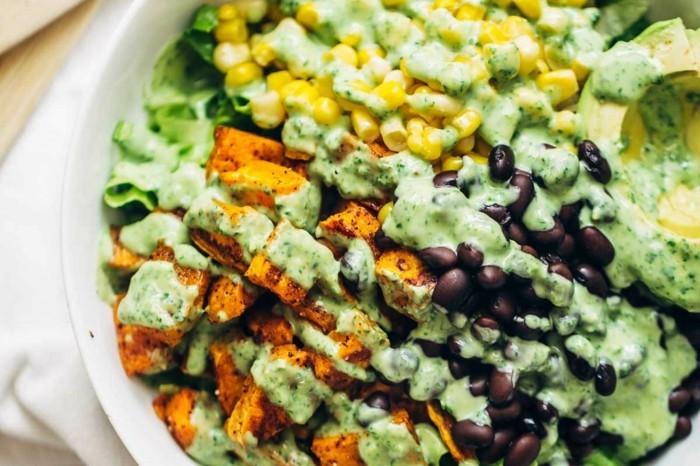 grillen vegetarisch gute einfache rezepte salat dip