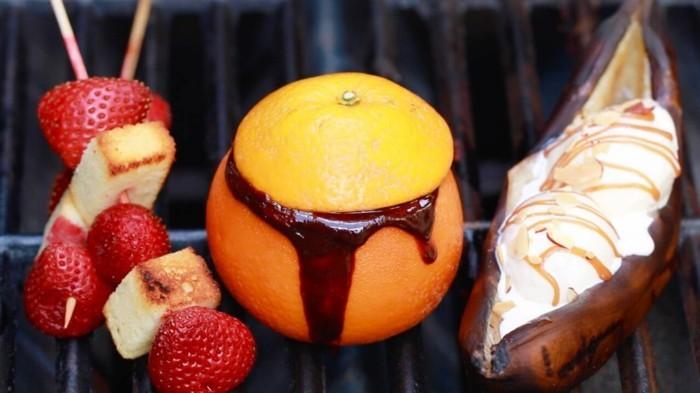 grillen vegetarisch gute einfache rezepte sommre desserts