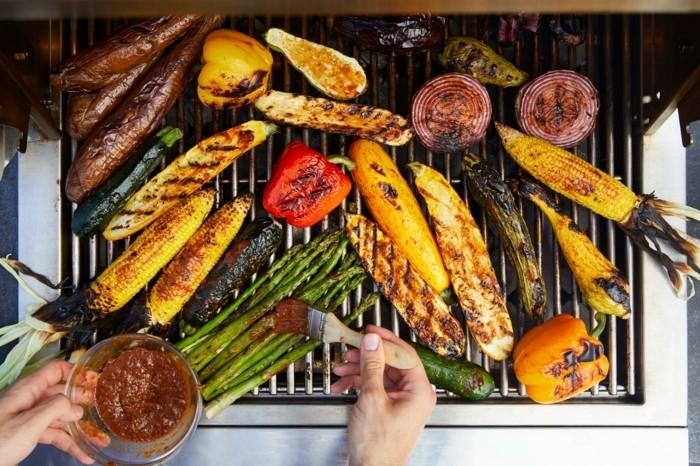 grillen vegetarisch gute einfache rezepte spargel