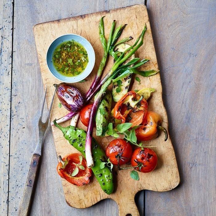 grillen vegetarisch gute einfache rezepte teller praesentieren