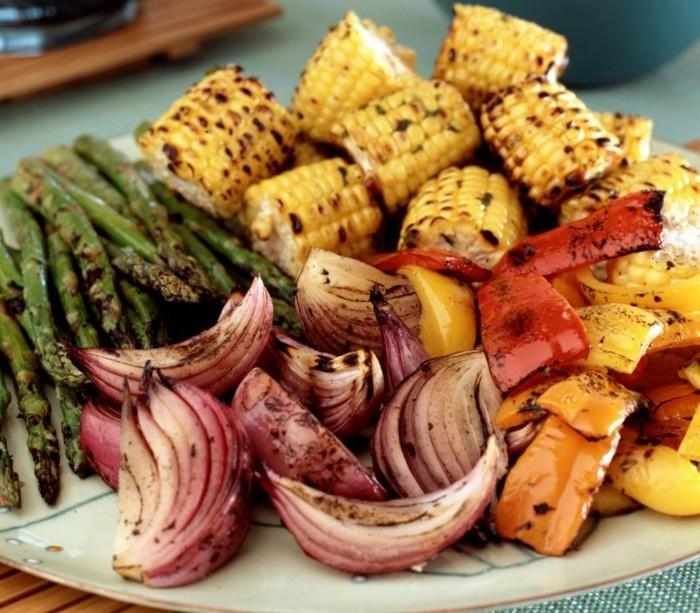 grillen vegetarisch gute einfache rezepte zwiebel