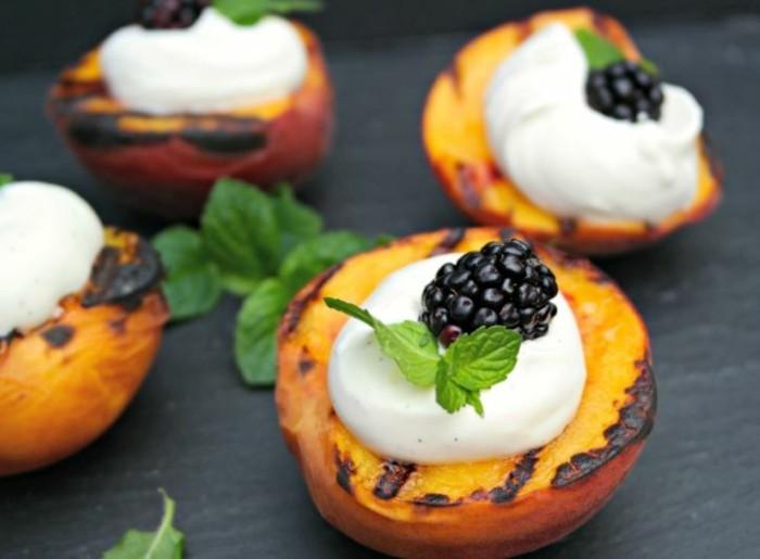 grillen vegetarisch gute einfache rezepte. aprikose