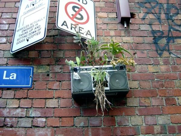 guerilla gardening upcycling ideen