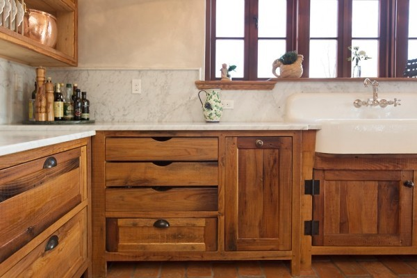 küchen inspiration holzboden landhausstil italienisches design