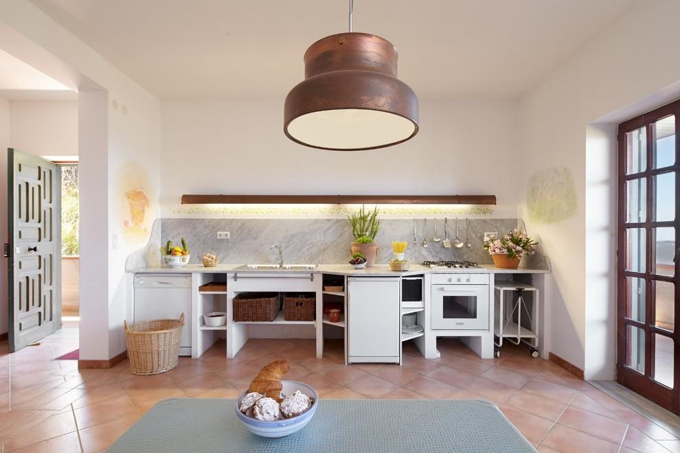 küchen inspiration italienischer stil landhausstil küchendesign