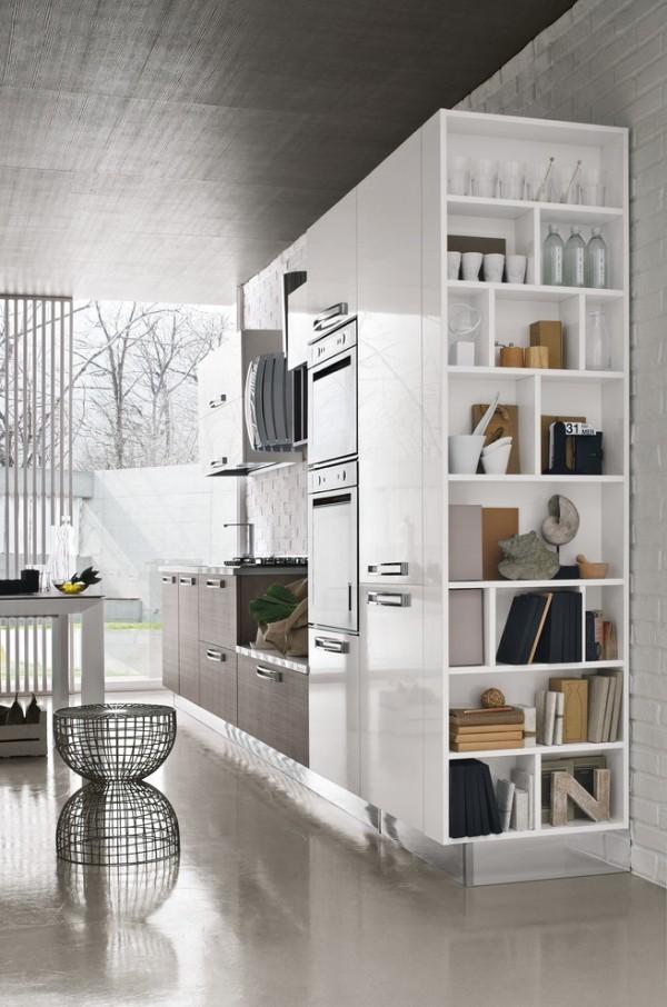 küchen inspiration italienischer stil stauraum ideen