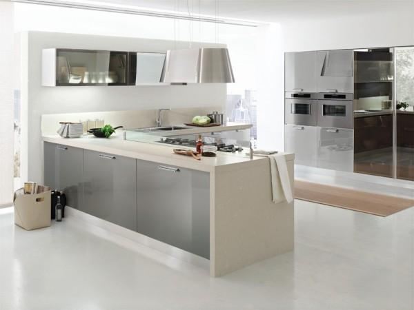 küchen inspiration italienisches design helle farben schlichte einrichtung