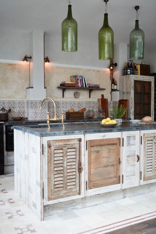 küchen inspiration kreatives möbeldesign rustikaler stil