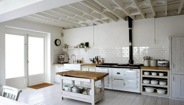 küchen inspiration rustikale landhausküche