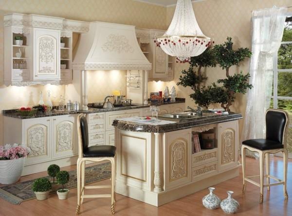 küchen inspiration schöne italienische küche helle möbel