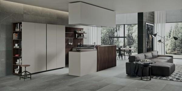 küchen inspiration wohnküche offene italienische küche
