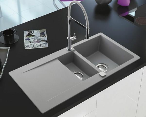 küchenspüle granit moderne küchengestaltung