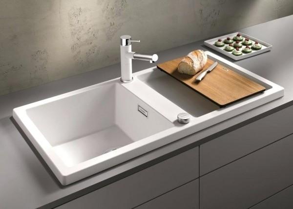 küchenspüle granit moderne unterschränke