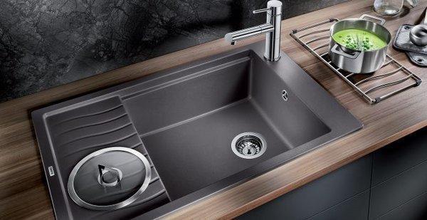 küchenspüle granit schöne arbeitsoberfläche moderne küche