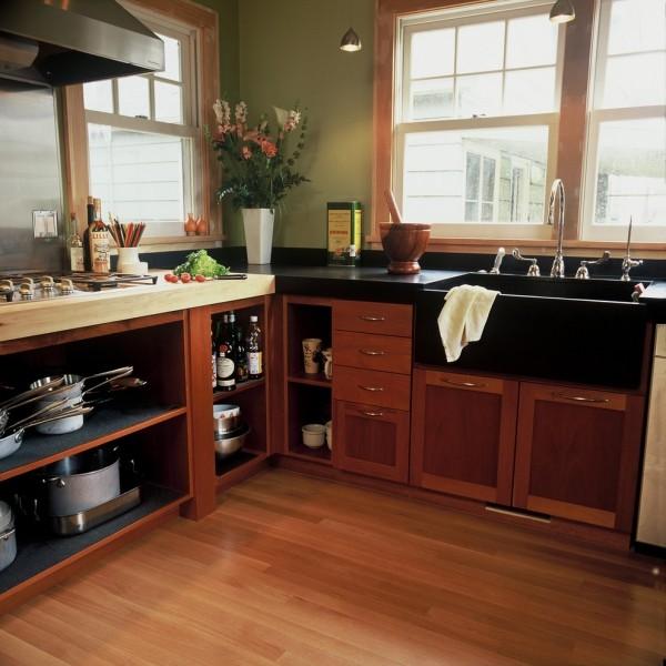 küchenspüle granit schwarz stilvoll