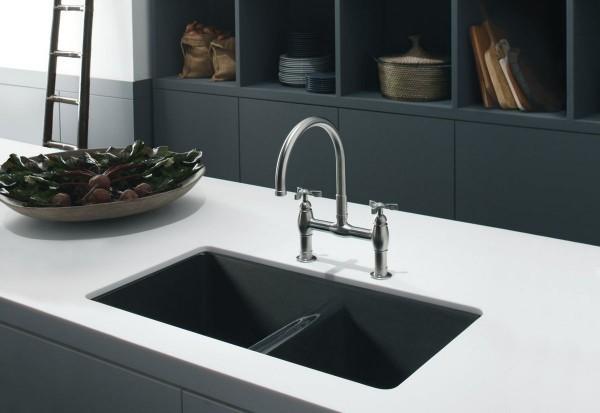 küchenspüle granit unterschiedliche designs