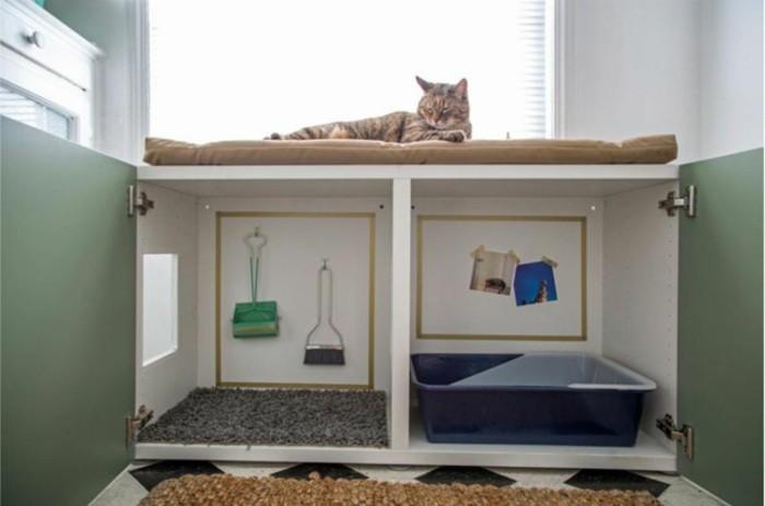 katzenhaus selber bauen moebel aus pappe katzenhaus aus karton ordnung