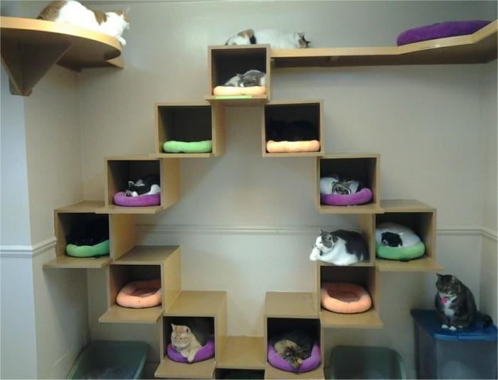 katzenhaus selber bauen 40 preisg nstige und praktische. Black Bedroom Furniture Sets. Home Design Ideas
