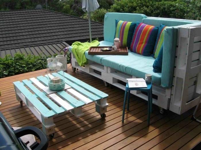 kuehlraum paletten gartenmoebel farbgestaltung