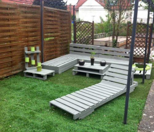 Außergewöhnlich Gartenmöbel aus Paletten: Aktuelle Ideen für Sommer 2018 - Fresh #RO_08