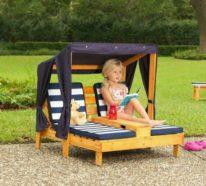 Paletten Gartenmöbel versprechen schlichte Eleganz und nachhaltigen Komfort auch für Hof oder Terrasse