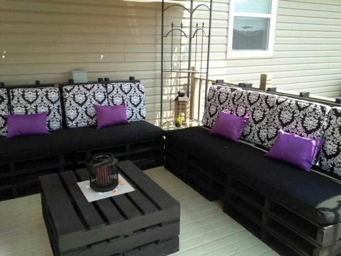 kuehlraum paletten gartenmoebel lounge