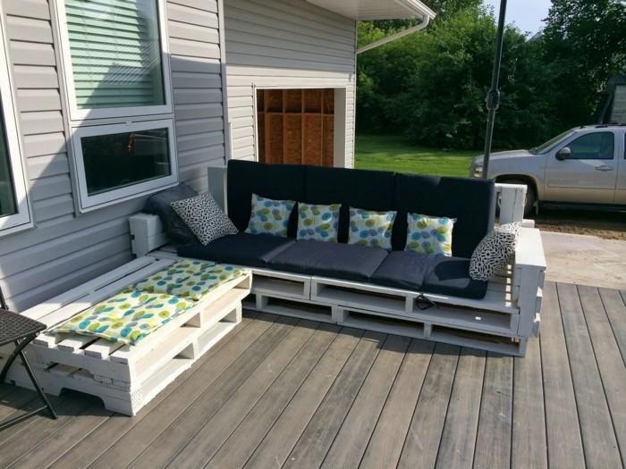 paletten gartenm bel versprechen schlichte eleganz und nachhaltigen komfort f r hof oder terrasse. Black Bedroom Furniture Sets. Home Design Ideas
