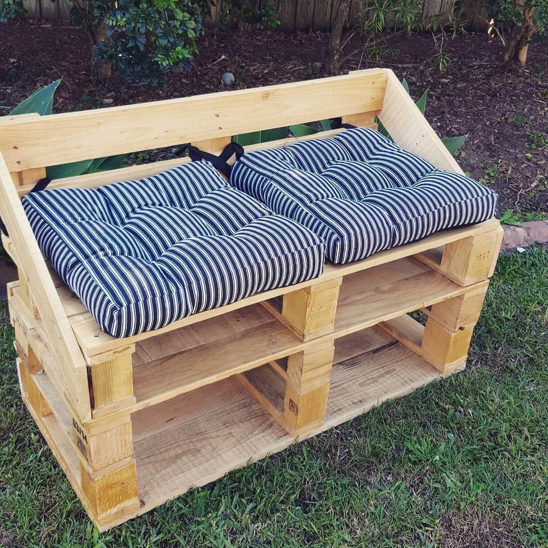 Paletten Gartenmöbel versprechen schlichte Eleganz und nachhaltigen ...