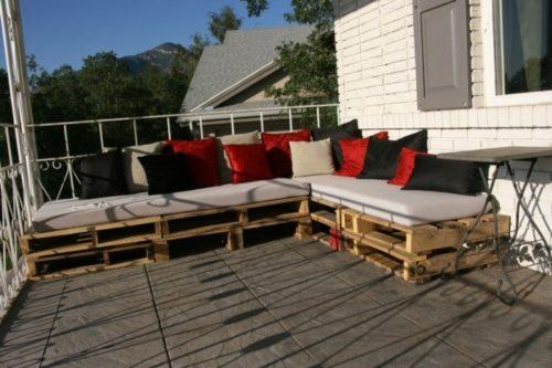 kuehlraum paletten gartenmoebel terrassengestaltung